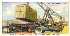 railway equipment series : mobile crane handling container traffic