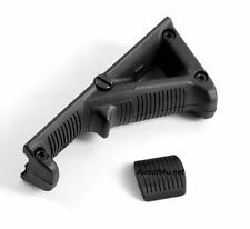 New Black Rifle Tactical Advanced Angled Fore Grip 2 for Picatinny Quad Rail BLK