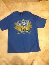 WWE 2011 Smack Down World Tour T Shirt Size XL