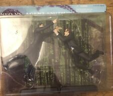 The Matrix -  NEO Vs AGENT SMITH -fighting collectable - NEW - Action Figures