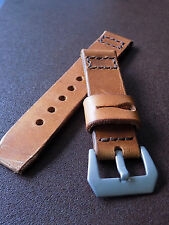 Hand made 22mm Genuine Swiss Ammo pouch watch strap.
