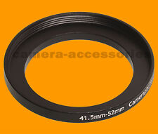 41.5mm to 52mm 41.5-52 Stepping Step Up Filter Ring Adapter 41.5-52mm mm