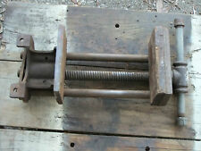 """Vintage Columbian 1R Woodworking Vise 7"""" Jaw Made in Cleveland OH"""