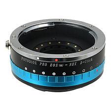Fotodiox Objektivadapter Pro Canon EOS EF für Sony Nex Kamera mit Iris