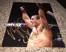 Urijah Faber Signed 8x10 UFC Photo inscribed California Kid with proof