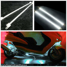 4xCar Motercycle White Undercar Underbody Neon Kit Lights CCFL Cold Cathode Tube