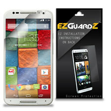 2X EZguardz Screen Protector Cover 2X For Motorola Moto X 2nd Generation (2014)