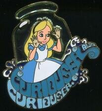 WDI Alice in Wonderland Curiouser And Curiouser LE 250 Disney Pin 109556