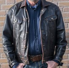 VERY RARE LEE Riders Leather jacket XL (collectors item)