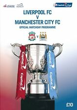 CAPITAL ONE CUP FINAL 2016 Liverpool v Manchester City