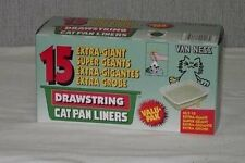 Van Ness Drawstring Cat Pan Liners, Extra Large, 15 Ct (Pack of 6)