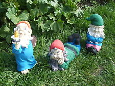 LATEX MOULD/MOULDS/MOLDS  FOR 3 PIECE GARDEN GNOME SET