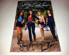 "PRETTY LITTLE LIARS CASTX4 PP SIGNED 12""X8""INCH POSTER LUCY HALE N2"