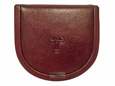 Mala Leather Toro Premium Quality Gent Coin Tray Horseshoe Wallet Purse Pouch