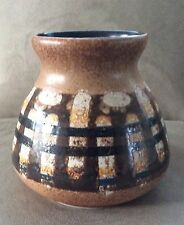Handcrafted Ceramic Studio Art Vase LAPID POTTERY WORKS Tel Avid, Israel