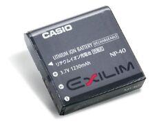 ORIGINAL CASIO Li-ion NP-40 Battery for Exilim Digital Cameras np40