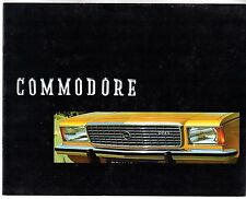 Opel Commodore B 1972-73 UK Market Sales Brochure 2.5 GS Saloon Coupe