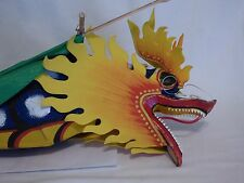 CLASSIC CHINESE HANDMADE BAMBOO KITE,HUGE DRAGON W/HORNS