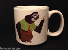 DISNEY Store ZOOTOPIA Mug FLASH Cup WHAT'S THE RUSH ? 2016 Release 12 oz NEW