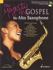 The Majesty of Gospel for Alto Saxophone 16 Great Gospel Songs Book an 049013068