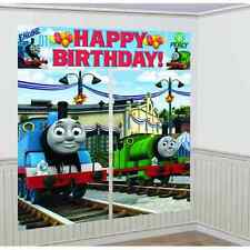 Thomas the Tank Engine Train Birthday Party Scene Setters Wall Decorating Kit