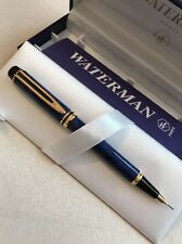 WATERMAN MAN 200 RHAPSODY BLUE MARBLE GT 0.7MM MECHANICAL PENCIL-FRANCE-NOS