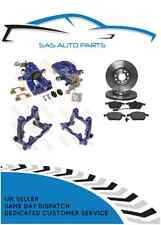 310MM VENTED REAR BRAKE CONVERSION / SETUP CALIPERS CARRIERS DISCS PADS PACKAGE