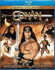 Conan: The Complete Quest (Blu-ray Disc, WS, 2016, 2-Disc Set) NEW