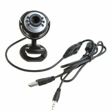 USB 50.0M 6 LED CMOS PC Camera Network Webcam with MIC For Pc LW
