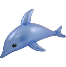 INFLATABLE DOLPHIN FISH 80CM BLOW UP POOL BEACH PARTY CHILDRENS KIDS TOY UK SELL