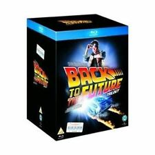 Back To The Future Blu Ray Complete Films Collection 3 Discs Box Set Brand New
