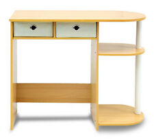 Computer Desk For Small Spaces Wood Home Office Furniture Table Workstation New