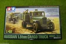 Tamiya RUSSIAN 1.5ton CARGO TRUCK model 1941 1/48 Scale Kit 77