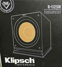 "Klipsch R-112SW Reference Series 12"" Powered Subwoofer 600W"