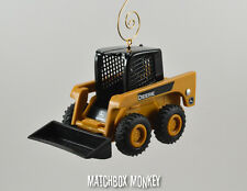 Custom John Deere Skid steer Loader 1/32 Christmas Ornament CAT Bobcat Volvo