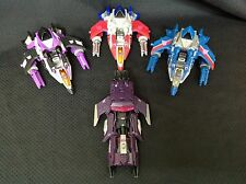 Transformers Fall of Cybertron Deluxe Decepticon Lot of 4