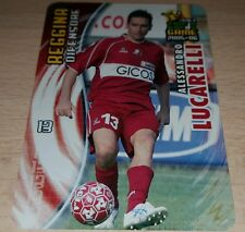 CARD CALCIATORI PANINI 2005-06 REGGINA LUCARELLI CALCIO FOOTBALL SOCCER ALBUM