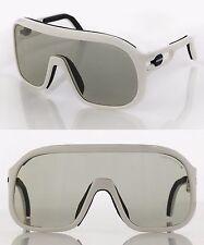 NOS Vtg 1980s PORSCHE by CARRERA White Frame Goggles Sport Sunglasses 5625
