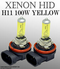 TMZ H11 100W Fog Light Xenon HID Yellow Direct Replacement Bulbs Jd6ALB USD W283
