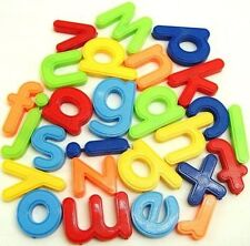 Magnetic Alphabet Letters 26 piece Childrens Kids Magnets Fridge Multicoloured