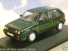 VANGUARDS 1/43 1990 VOLKSWAGEN VW GOLF MK2 MKII GTi 16V OAK GREEN LHD VA13604B