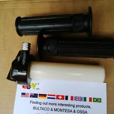 BULTACO SHERPA GRIPS + THROTTLE AMAL NEW BULTACO ALPINA LOBITO MATADOR NEW KIT