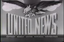 UNITED NEWS 1943 NEWSREELS VOLUME 4 VINTAGE RARE DVD