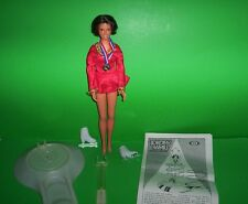 1977 Ideal Vintage Olympic Dorothy Hamill Doll with Skating Rink & Instructions