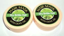 2  HAIR CHEMIST Hair Mask With Macadamia Oil For DRY BRITTLE HAIR  2 oz/57g each