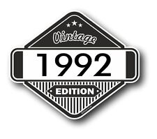 Vintage Edition 1992 Classic Retro Cafe Racer Style Vinyl Motorcycle car sticker