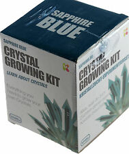 Grow Your Own Crystals - Crystal Growing Kit Science Set Sapphire Blue 10+