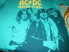 ACDC HIGHWAY TO HELL TEE SHIRT WITH BON SCOTT MED