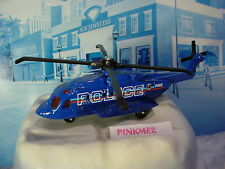 Mission Force:POLICE SIKORSKY S-92☆Blue Helicopter☆Loose Matchbox sky busters