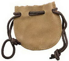LEATHER POUCH - MOJO - MEDICINE BAG  Wicca Pagan Witch Goth HERBS SPELLS RITUAL
